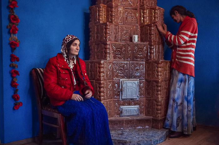 Vergiana, 40, and his daughter, Mirela, 19.